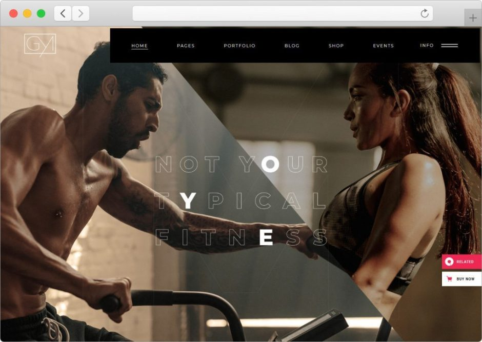 Powerlift Awesome Fitness and Gym Theme for Modern Websites