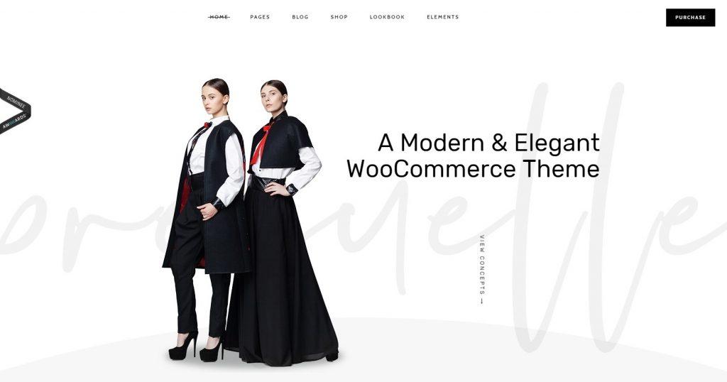 Prequelle WordPress Fashion Shop Theme For Lookbooks