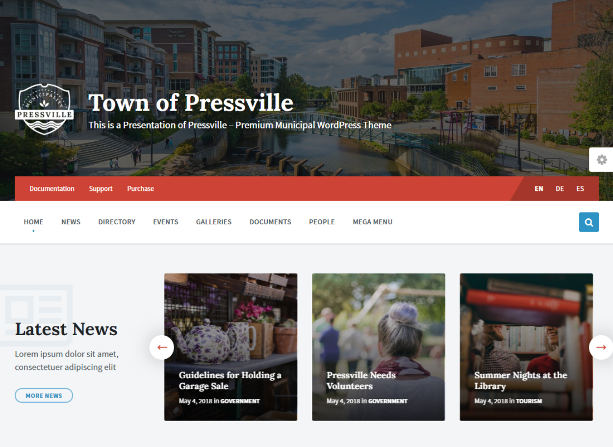 Pressville Unique Magazine Theme for WordPress