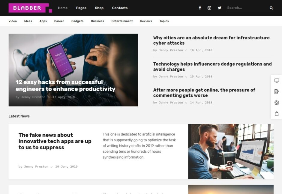 Product Review WordPress Themes