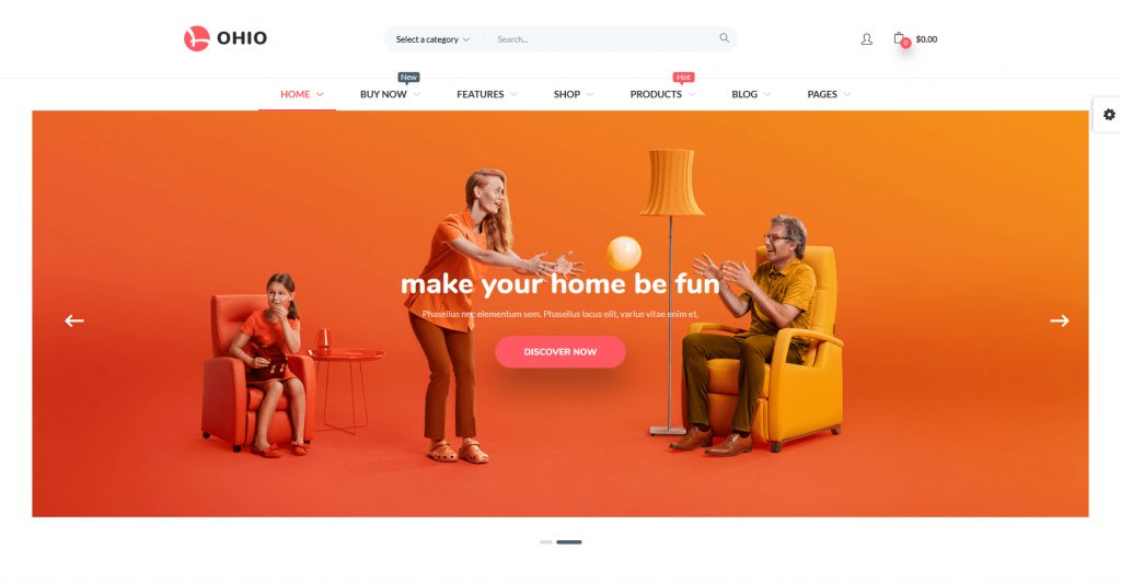 Puca WordPress ECommerce And WooCommerce WordPress Theme