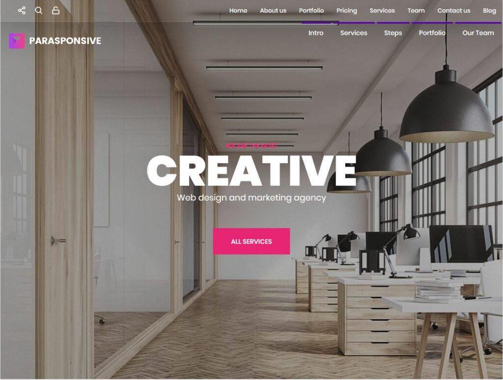 Pure Photo WordPress Video Portfolio Theme For Artists