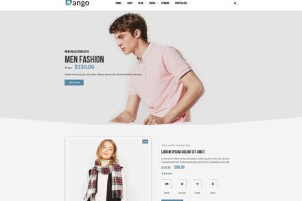 Rango Elegant Fashion WooCommerce WordPress Theme