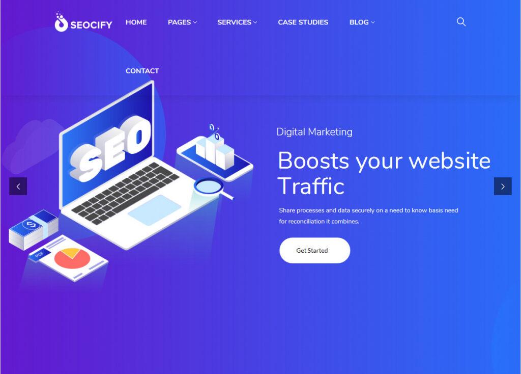 Seocify SEO And Digital Marketing Agency WordPress Theme