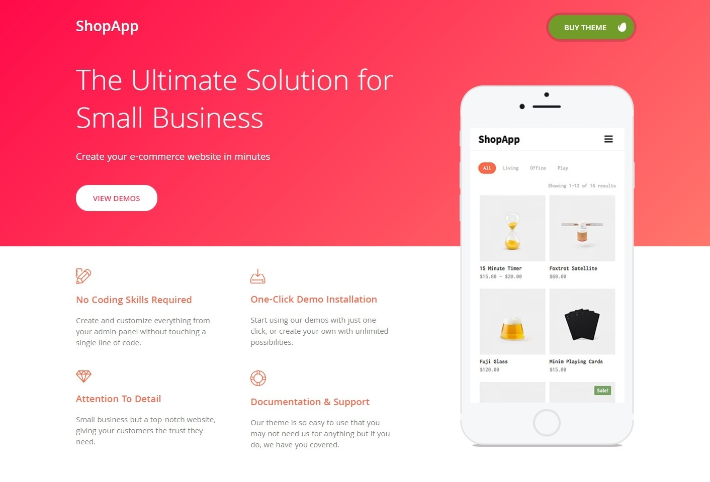 ShopApp eCommerce Addon for Any Website