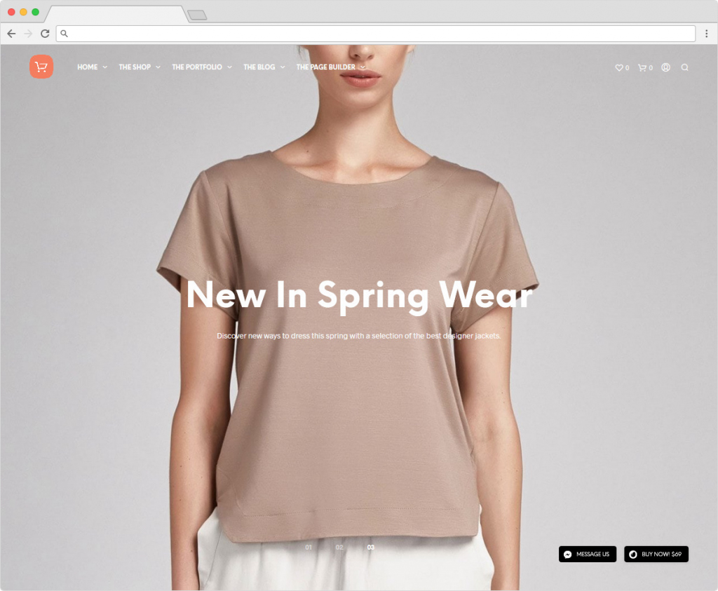Shopkeeper eCommerce Retail WordPress Theme For Entrepreneurs
