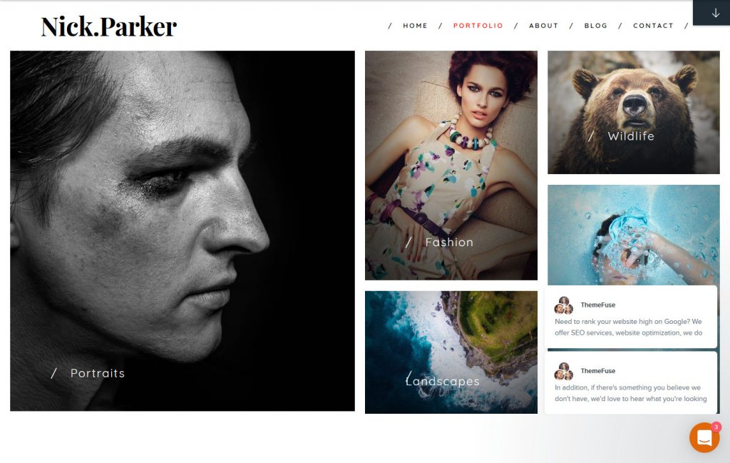 Shutter WordPress Grid Themes