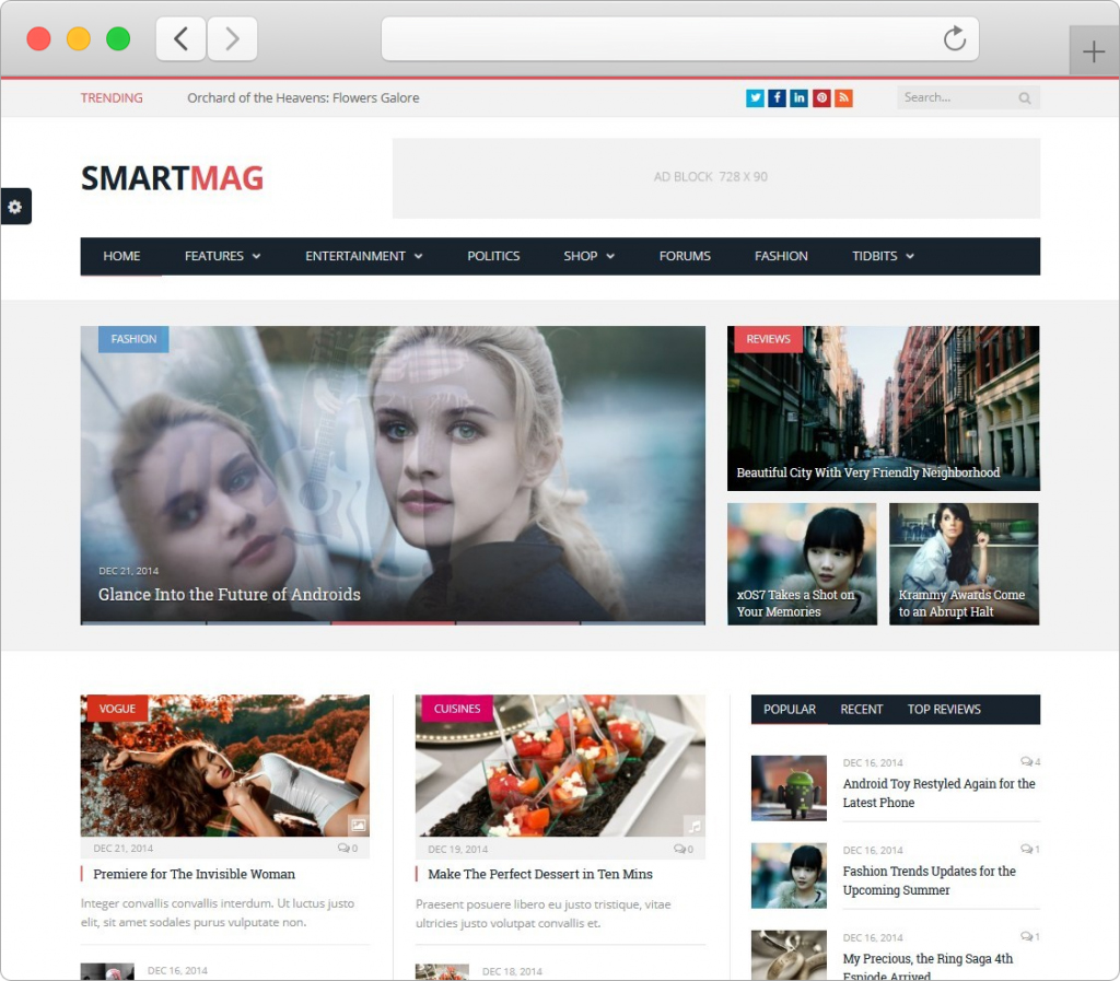 SmartMag WordPress Magazine And News Theme