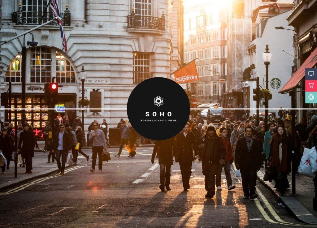 Soho Powerful User Friendly Multimedia Video Theme