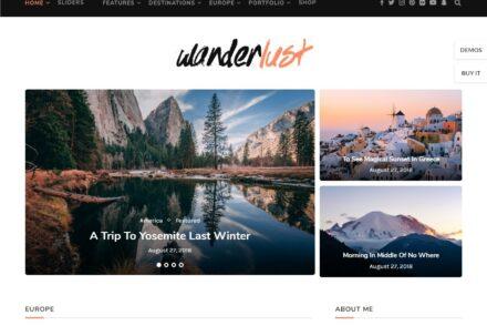 Soledad Premium Quality Multimedia Magazine Theme