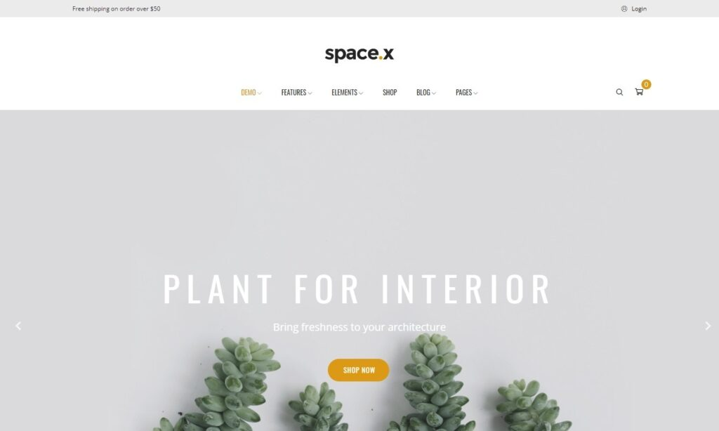Space Interior Architecture Furniture WooComerce WordPress Theme