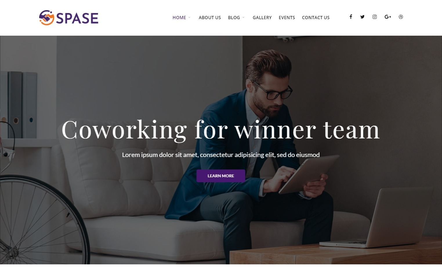 Spase Business and Coworking Theme