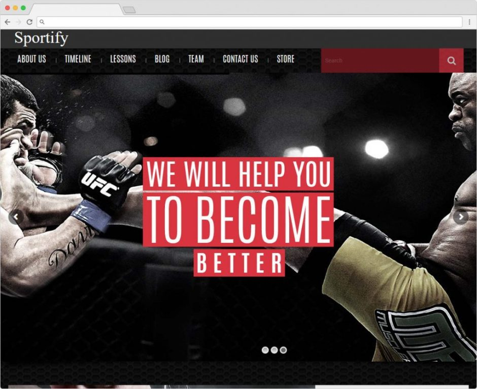 Sportify Premium WordPress Fitness and Sports Theme for Training Businesses