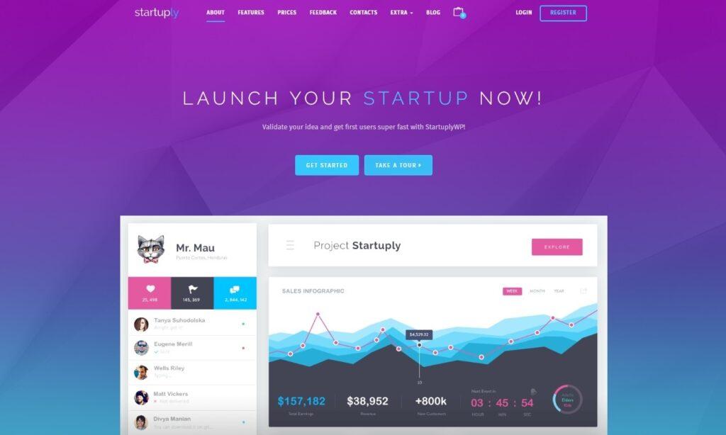 Startuply Multi Purpose Startup Theme