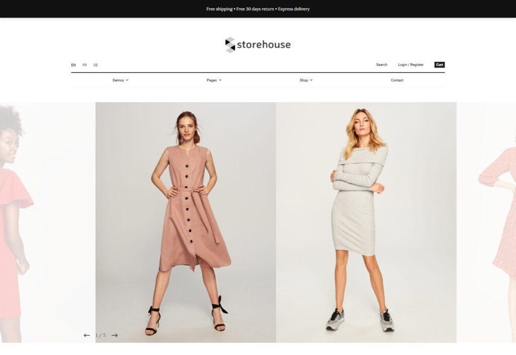 Storehouse Elegant WordPress WooCommerce Theme