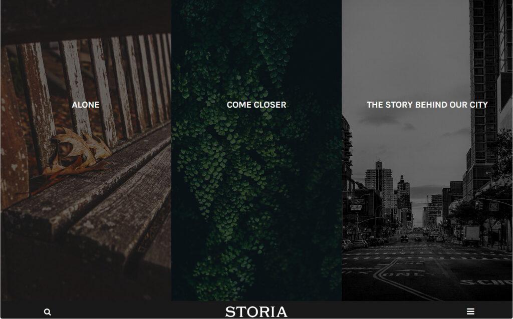 Storia WordPress Theme For Writers Magazines