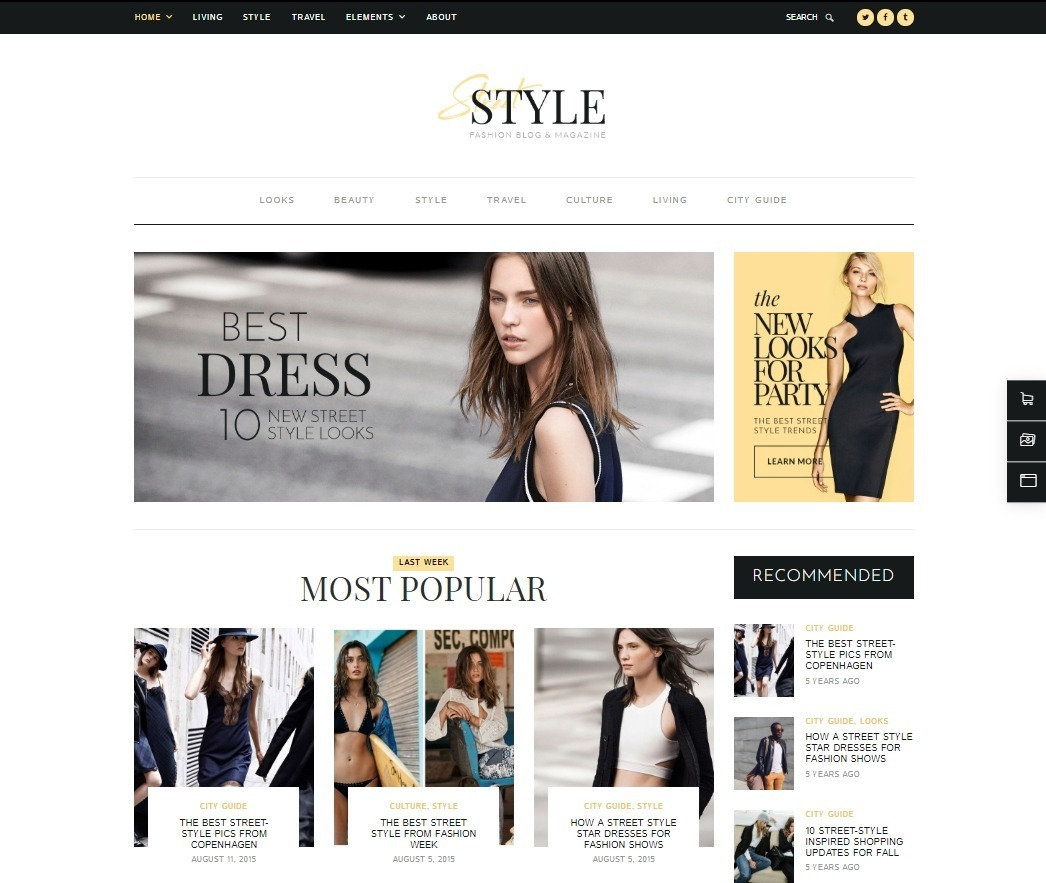 Street Style WordPress Theme for Mom Blogs and Lifestyle Bloggers