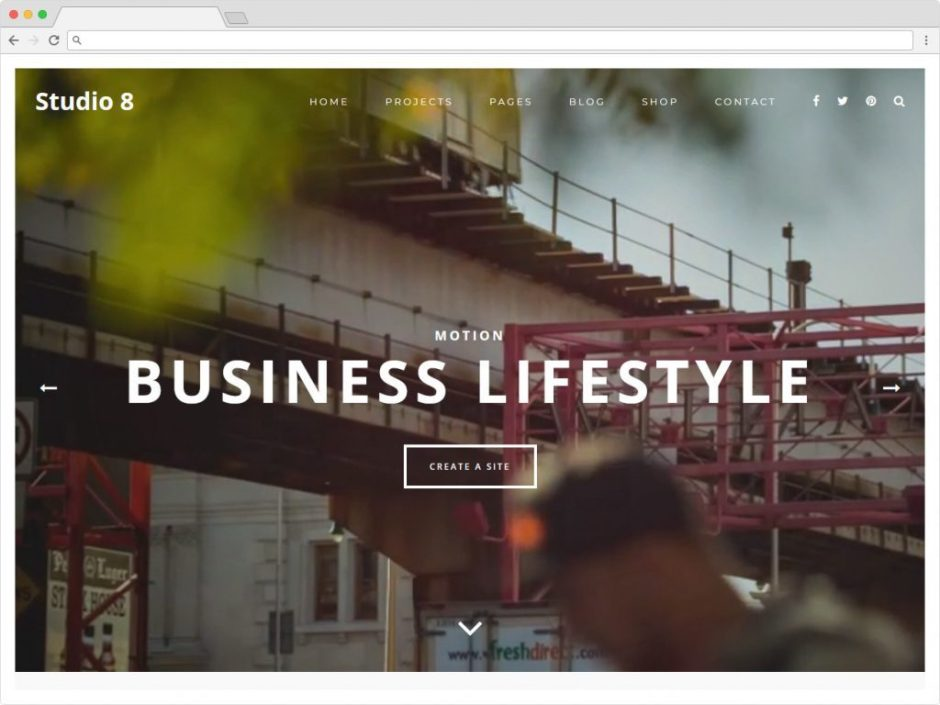 Studio 8 Best Personal Blog WordPress Themes