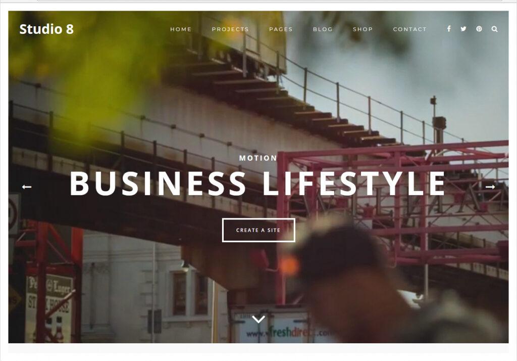 Studio Clean Agency And Responsive Multipurpose Portfolio