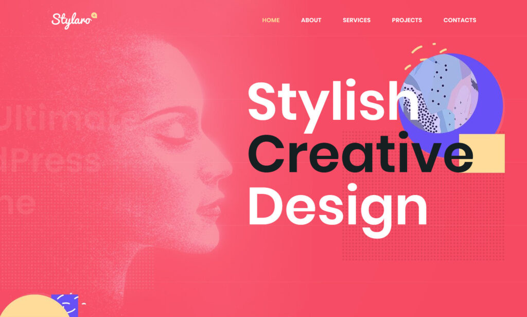 Stylaro Clean Flat Mesmerizing Digital Agency Portfolio Theme
