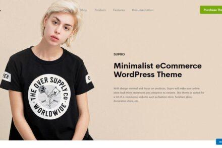 Supro WordPress Theme