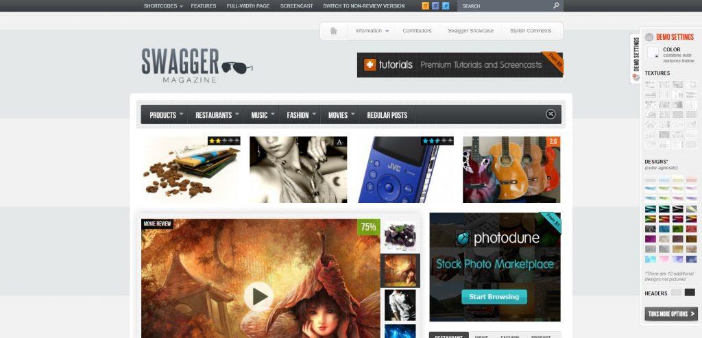 SwagMag WordPress Personal Blog And Magazine Theme
