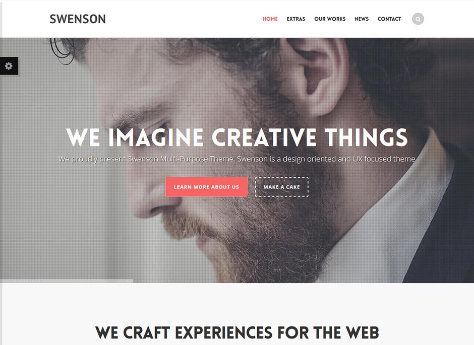 Swenson WordPress Theme For Apps