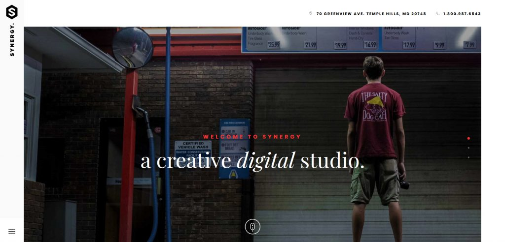 Synergy WordPress Creative Studio Theme