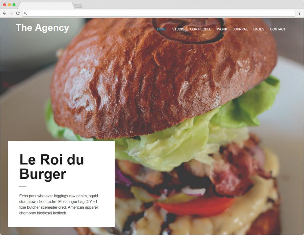 The Agency Clean Crisp Agency Theme