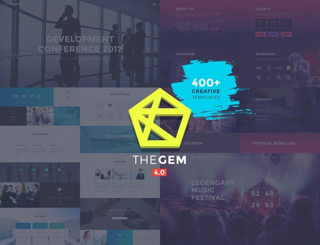The Gem WordPress Events Themes