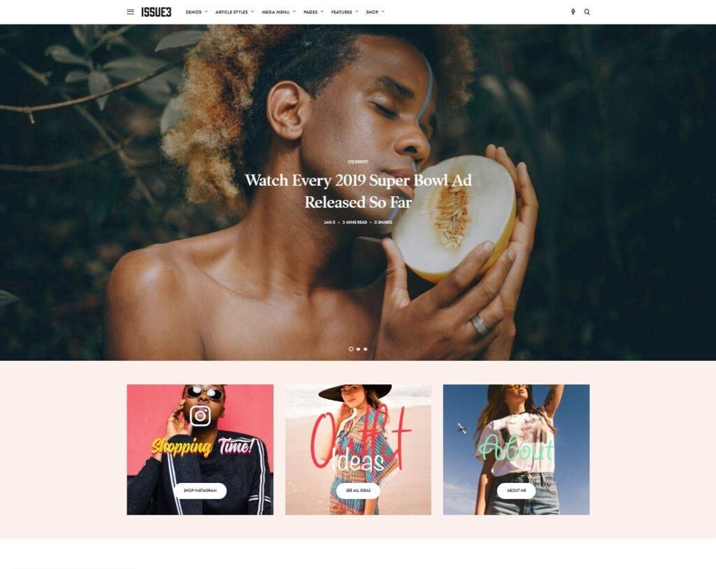 The Issue BuddyPress Powered Digital Magazine Theme