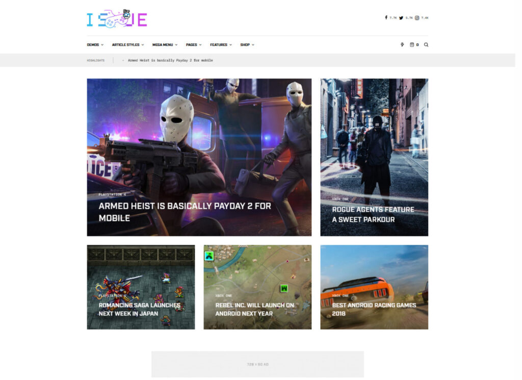 The Issue Versatile Magazine WordPress Theme 2