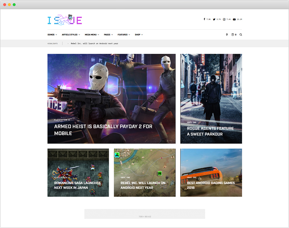 The Issue Versatile Magazine WordPress Theme