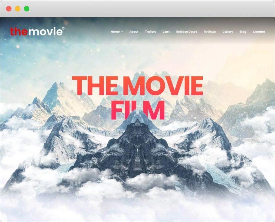 The Movie Movie And TV Series WordPress Theme