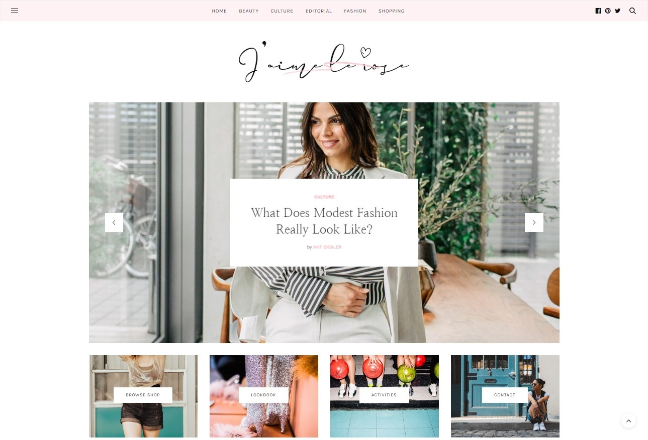 The Voux Elementor Powered Personal and Lifestyle Blog Themes