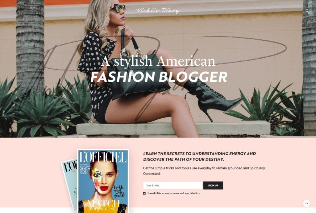 The Voux Feminine Magazine Theme for WordPress