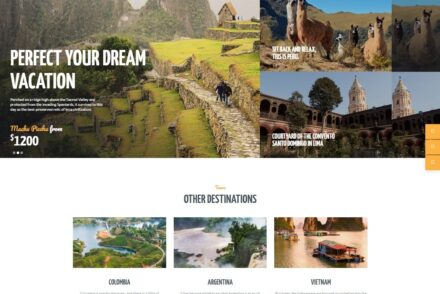 Travel Agency WordPress Themes