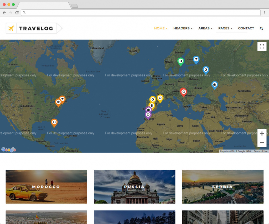 Travelog Adventure And Travellers Theme For WordPress