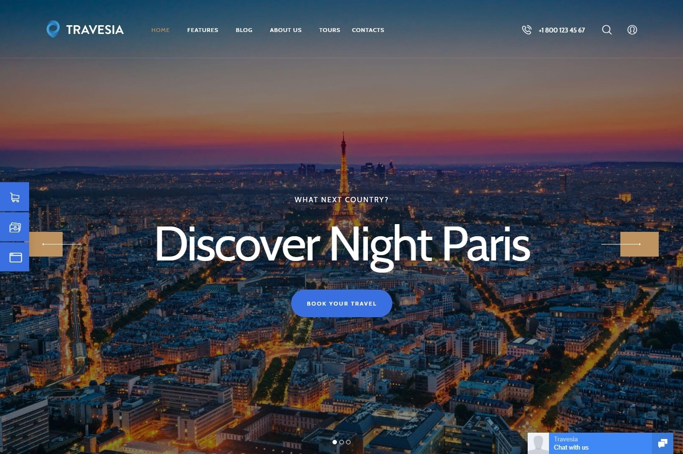 Travesia Premium Tour Travel WordPress Theme