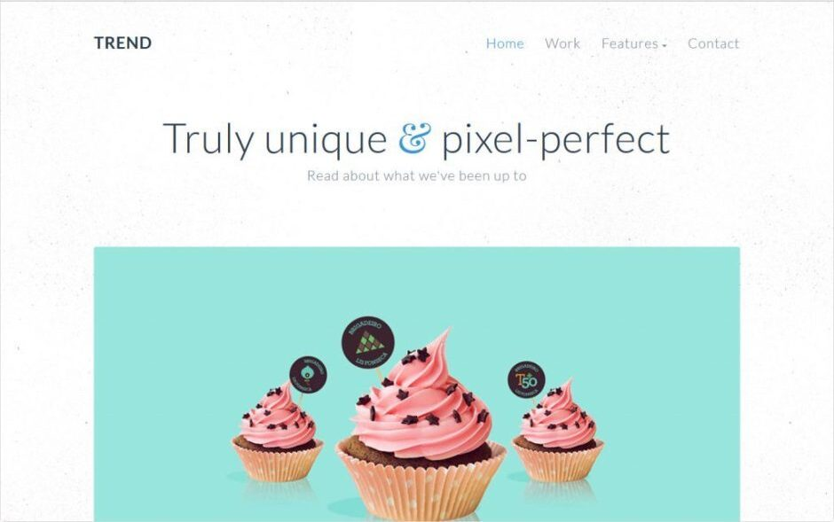 Trend Content Marketing And Writers WordPress Theme