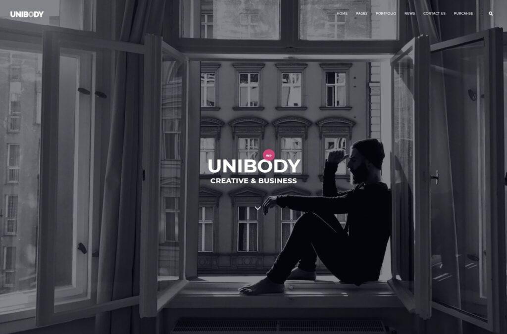 UniBody Minimalist Elegant Business WordPress Theme