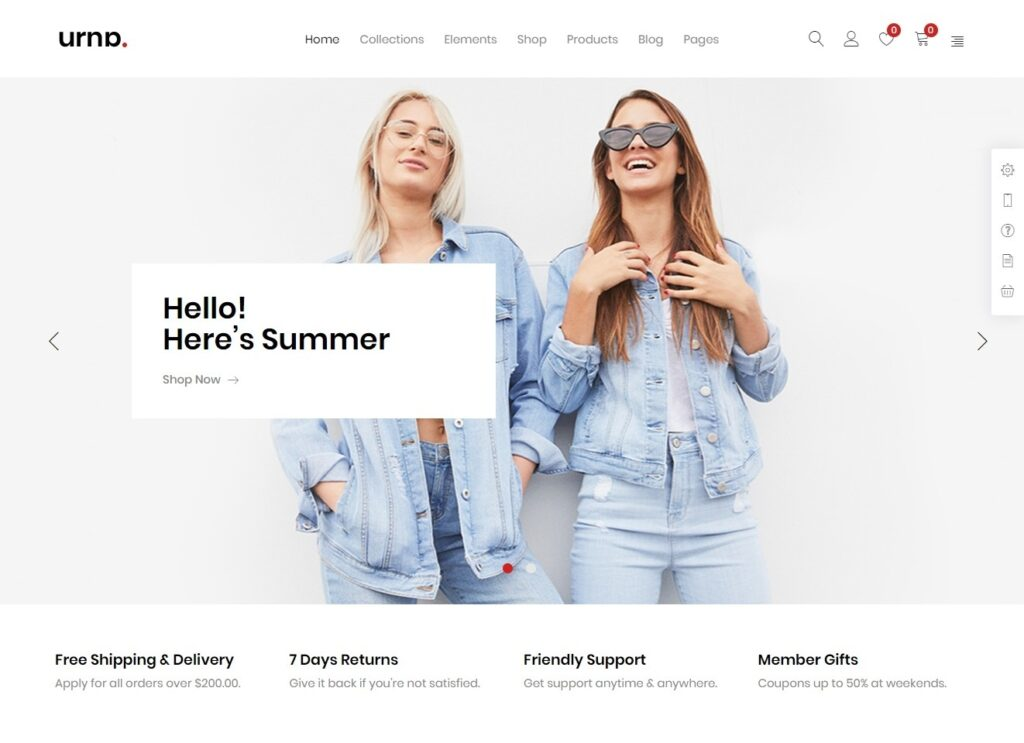 Urna Elementor Ready WooCommerce Shop Theme