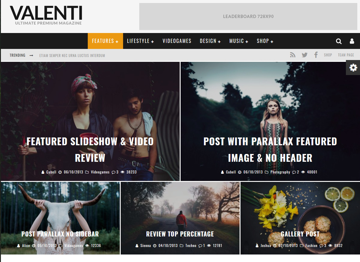 Valenti WordPress Magazine and Review Theme for Affiliate Marketers
