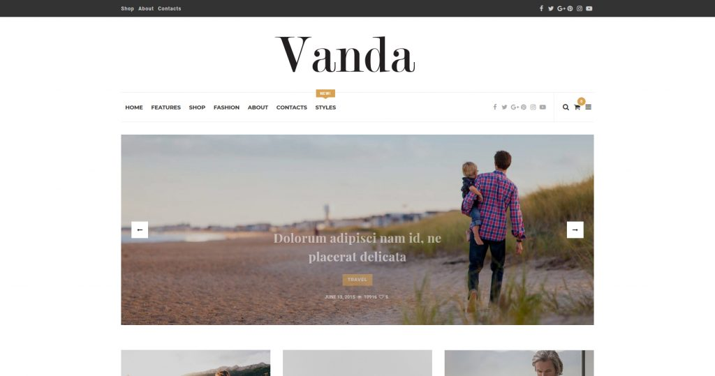 Vanda Clean And Creative Lifestyle Blog And Magazine