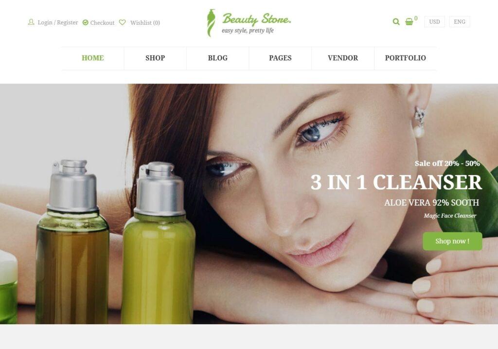 Vani Feminine WordPress Beauty Theme