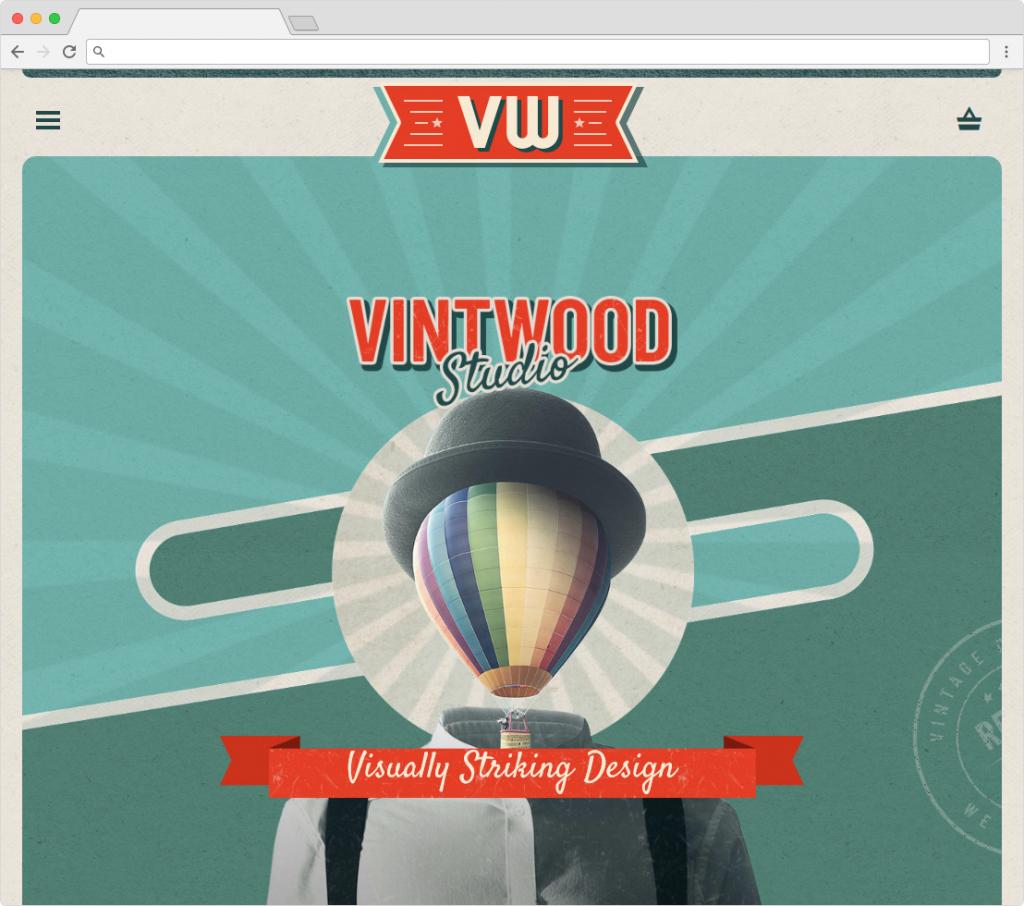 Vintwood Premium WordPress Vintage Style Theme