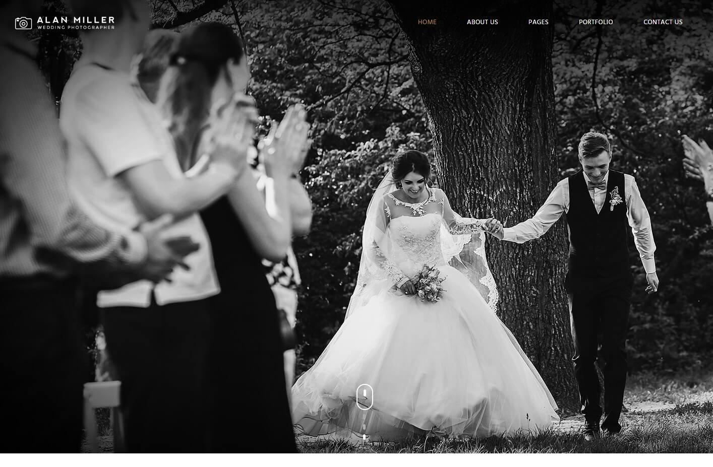 Vivagh Wedding Photographer WordPress Portfolio Theme