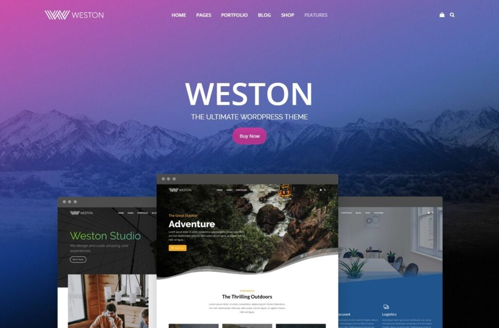 Weston Flat and User Friendly All Purpose Themes