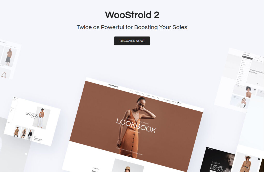 WooStroid WordPress WooCommerce Theme