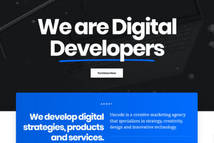 WordPress Agency Themes 1